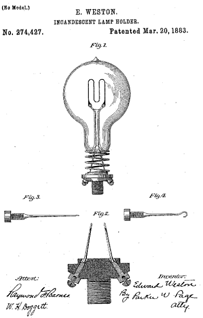 Kilokats antique light bulb site early incandescent lamp holders mozeypictures Gallery