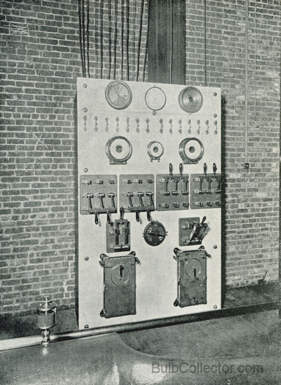 SWITCHBOARD FOR ISOLATED PLANT.