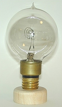 tipped heat therapy bulb